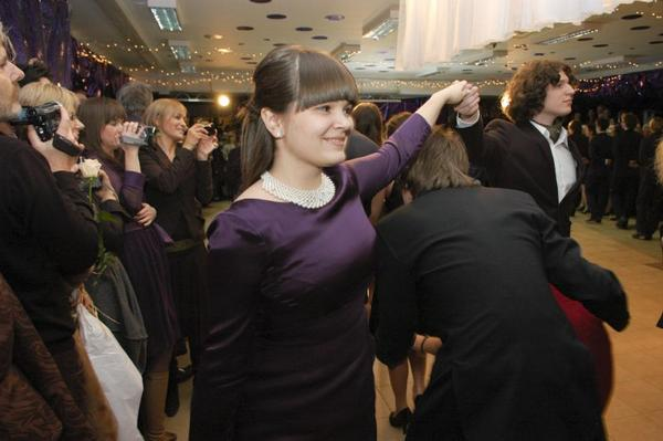 dancing polonez in studniowka by