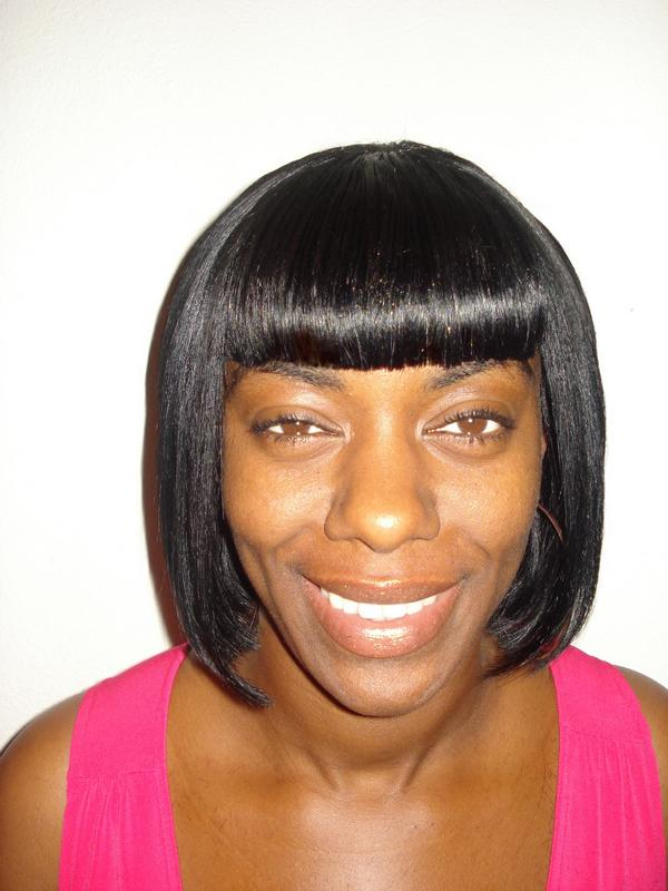 Sew in Bob with Bangs http://www.myspace.com/shaysstyles/photos/8756454