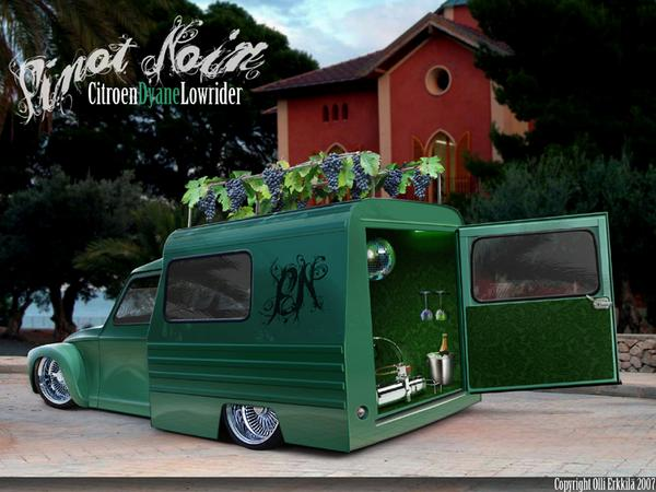Lowrider Vans http://www.myspace.com/chopperolli/photos/1131041