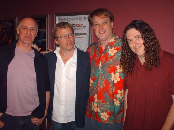 Keith Carradine, Eric Gilliland, Bill. Weird Al Yankovic in My Photos by