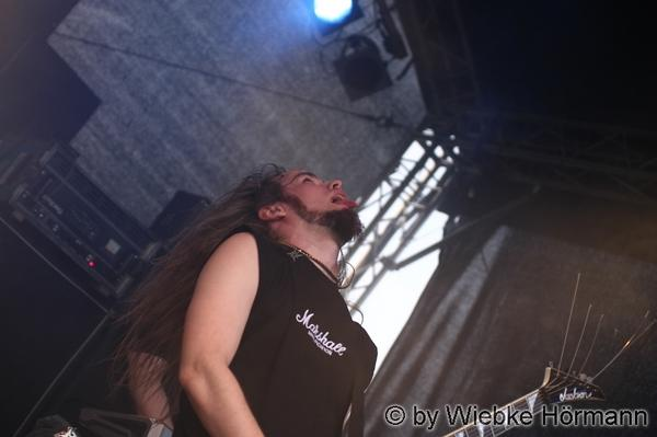 Punttis-Make and his tongue in cheek in Metal Bash 2009. in Live pics by 