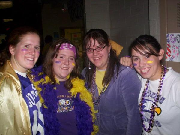 Purple and Gold Day! - Homecoming '06 in My Photos by