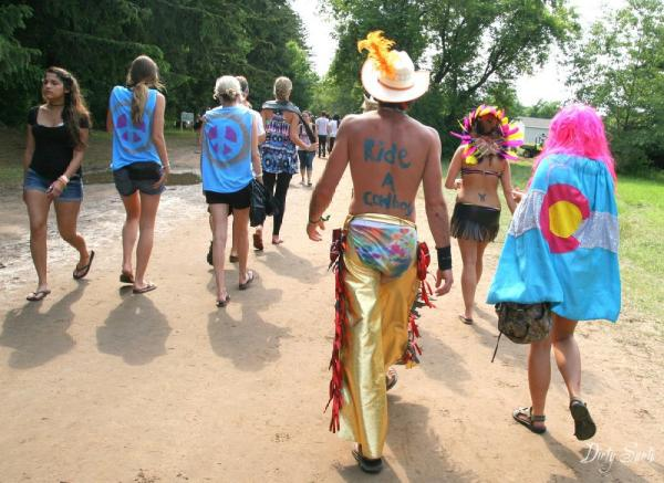 "His stomach says ""Save a Horse..."" in My Stream Photos by Music Festivals"