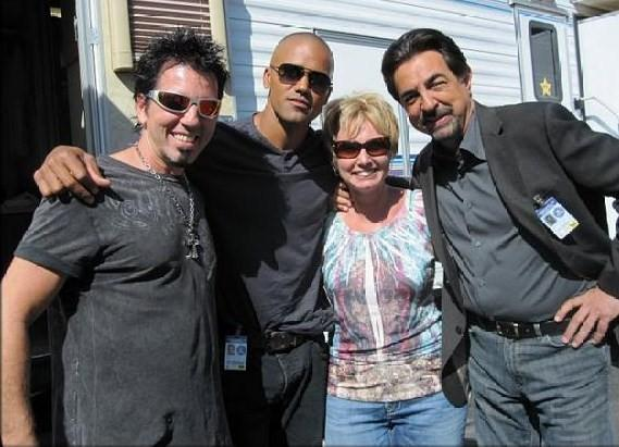 "On Set With Joe in ""Criminal Minds"" by"