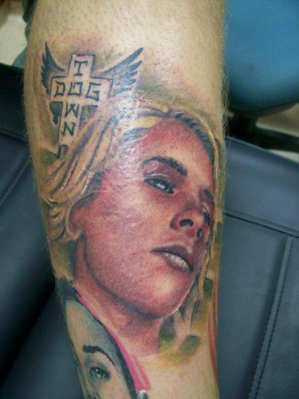 jay boy adams tattooed over scar in KIT D by Tattoo Company