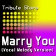 Bruno Mars - Marry You (Vocal Version)