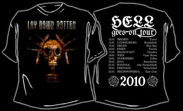 T-SHIRT (Hell Goes On Tour 2010) in Merchandise by