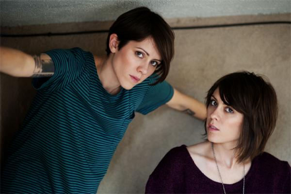 Tegan & Sara photo by Lindsay Byrnes