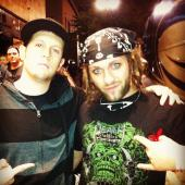 Our friend Danger from the Nonpoint crew welcomes Silent Season to the Death Grip Clothing family!
