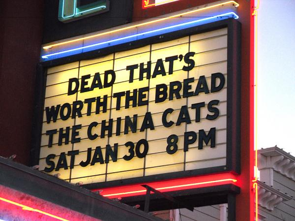 The Bread in Westside Theater by
