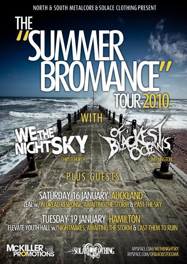 GiGS YOU SHOULD BE GOING TO: 2010 by Society Heavy metal Auckland