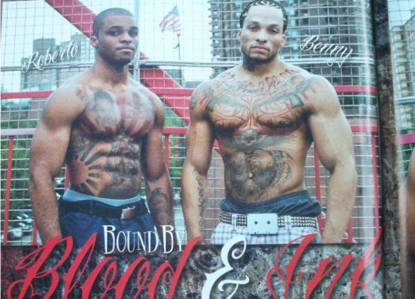 As Seen in Urban Ink Magazine in Erick Diaz by World Famous ASylum tattoo