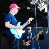 Steve Lalonde with Tony Reynolds at the 2012 B2B Festival