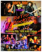 After a few weeks off to recharge the batteries, we are ready to rock. The Rockit band is back @ Doc's Inn, Sat 2/16/13 for a rowdy nigh