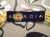 Borgia friendship bracelet made by my friend