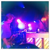 Marty, Warren  Nick - sound checking for the show at LA39s The Fonda Theatre