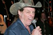 Here39s Ted Nugent doing his Nancy Grace impersonation. 41