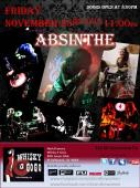 Absinthe headlines Whisky A GoGo