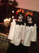 Us as cool creepy Evil Deth Rok twins 3 3