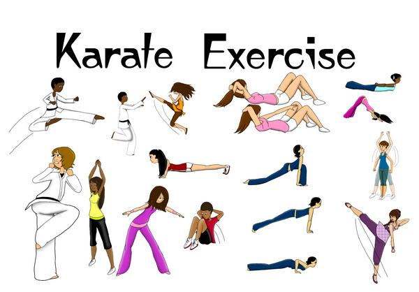 Karate Moves Step By Step For Kids Karate Exercise in 3 C...