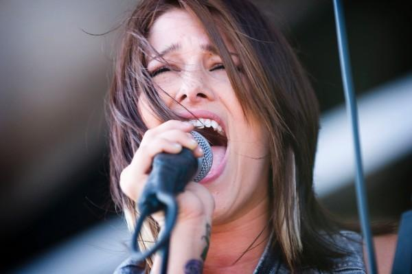 Cassadee Pope of Hey Monday