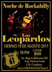 Photo of Los Leopardos. En el chopo  sab. 14 de agos. 11 am